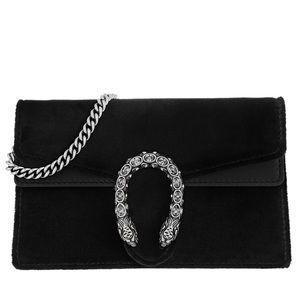 40f4b178a Gucci Bags | Dionysus Velvet Mini Bag Black | Poshmark